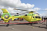 Eurocopter EC135P2+ (OH-HMY) Turku Airshow 2015 02.JPG