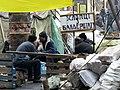 Euromaidan in Kiev. Banderstadt.JPG