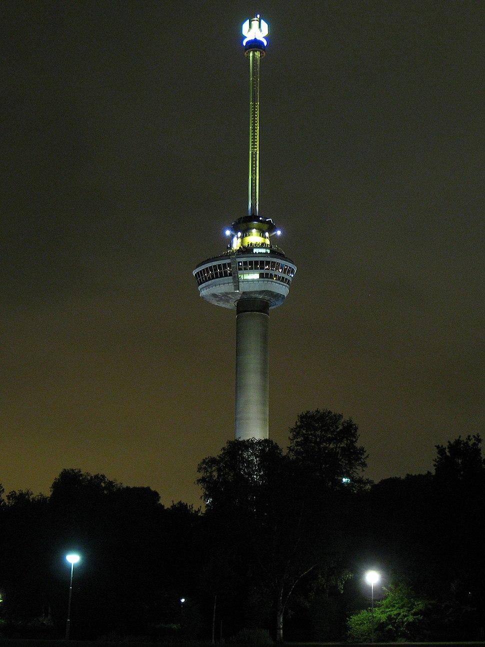 Euromast-at-night