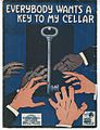 Everybody wants a key to my cellar 1919.jpg