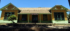 Pichilemu railway station in 2013.