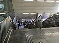 Exit A stairs of Xihongmen Station (20170807180846).jpg