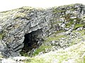 Exposed chamber at Blaen-y-cwm Quarries - geograph.org.uk - 574336.jpg