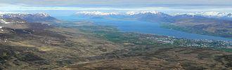 Eyjafjörður - Eyjafjörður in summer