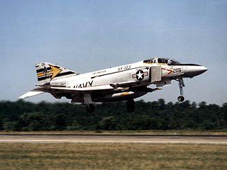 VFA-103 - VF-103 F-4J Phantom II in 1978