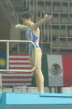 FINA Diving World Series 2013 - Moscow (RUS) - Day 3 - Si Yajie.JPG