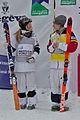 FIS Moguls World Cup 2015 Finals - Megève - 20150315 - Justine Dufour-Lapointe et Hannah Kearney.jpg