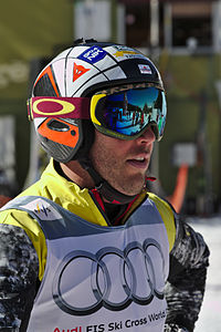 FIS Ski Cross World Cup 2015 - Megève - 20150313 - Louis-Pierre Helie.jpg