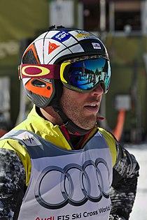 FIS Ski Cross World Cup 2015 - Megève - 20150313 - Louis-Pierre Helie.jpg