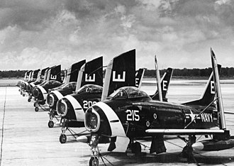 VF-61 - VF-61 FJ-3s at NAS Oceana c.1955