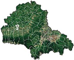 Location in Brasov County