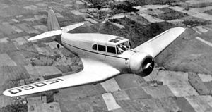 Fairchild 45 - Image: Fairchild 45 0255x