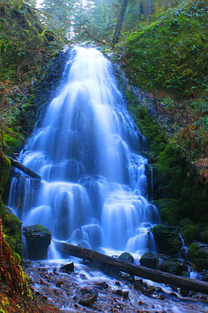 English: Fairy Falls Oregon - Columbia River Gorge
