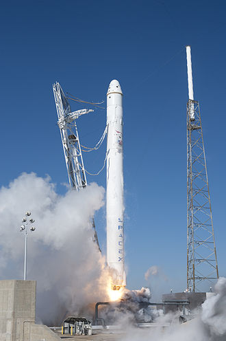 Falcon (rocket family) - Image: Falcon 9 COTS Demo F1 Launch