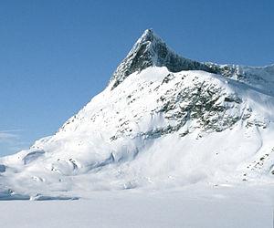 Baltazar Mathias Keilhau - Falketind was first climbed in 1820 by Keilhau, Christian Peder Bianco Boeck and Ole Urdi