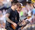 Fall Out Boy's Joe Trohman performs to open the 2016 T-Mobile -HRDerby. (28336716350).jpg