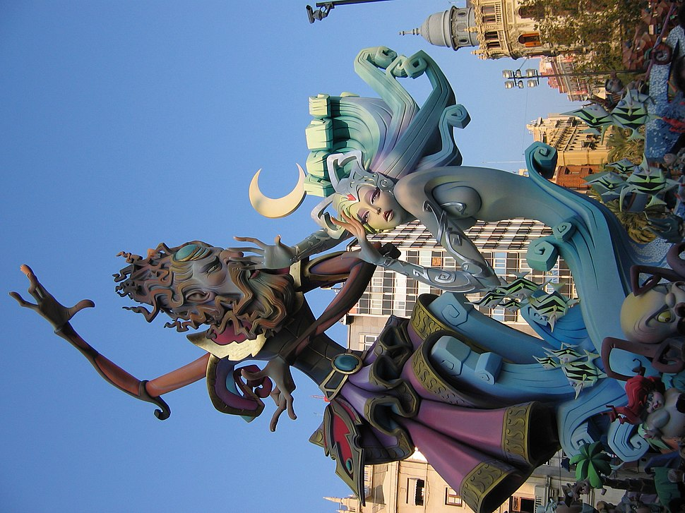 Falla del Ayuntamiento Valencia 2007
