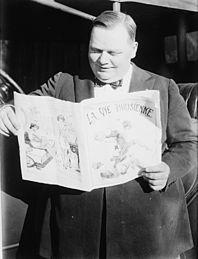 Fatty Arbuckle ca. 1920