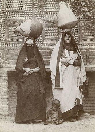Fellah - Fellah women in Egypt