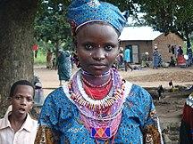 Bénin-Démographie-Femme peul
