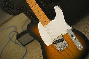 Fender Esquire - Image: Fender Esquire