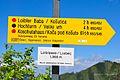 Ferlach Loibltal Alter Loiblpass Wegweiser und Schild 24052011 541.jpg