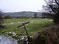Fingerpost on Limestone Way, nearly gone - geograph.org.uk - 1639161.jpg