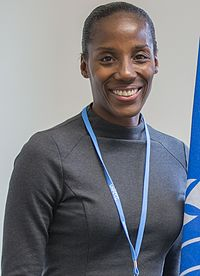 Fiona May, Olympic Games and world championship athlete (cropped).jpg