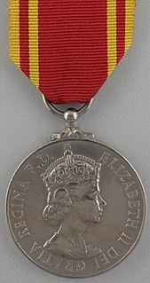 Fire Brigade Long Service and Good Conduct Medal