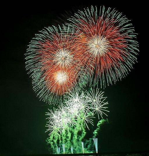 Fireworks in Nagaoka, Niigata Prefecture; August 2013 (04)