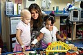 First Lady Melania Trump at the Monroe Carell Jr. Children's Hospital (42917846274).jpg