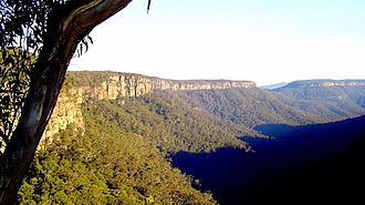 Fitzroy Falls, New South Wales - View from Fitzroy Falls NSW Australia