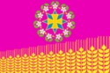 Flag of Kushchyovskoye Rural Settlement