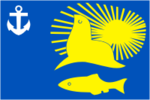 Flag of Nevelsk (Sakhalin oblast).png