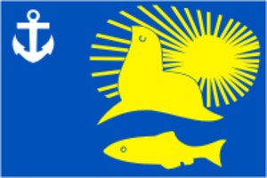 Nevelsk - Image: Flag of Nevelsk (Sakhalin oblast)