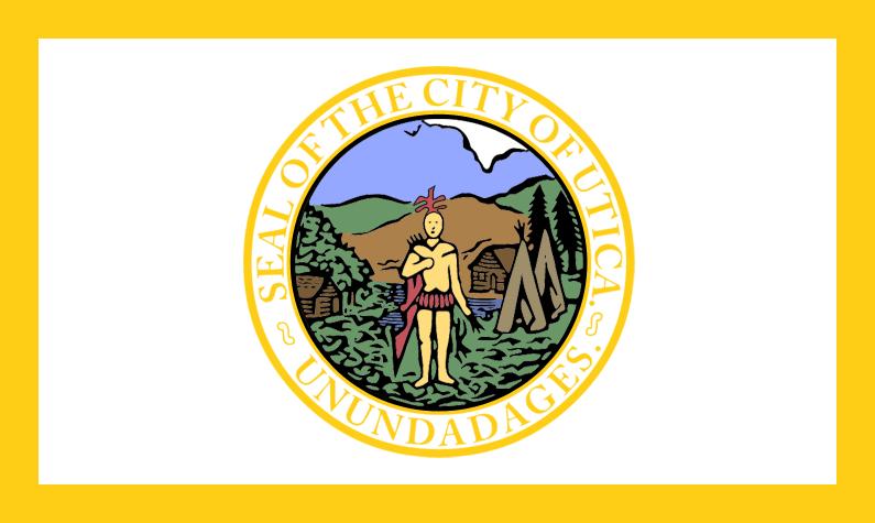 Flag of Utica, New York
