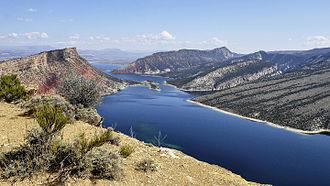 Flaming Gorge Reservoir - Image: Flaming Gorge (Utah) 23 9 2014 12 49 13