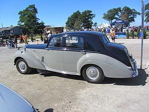 Bentley R Type - The big boot