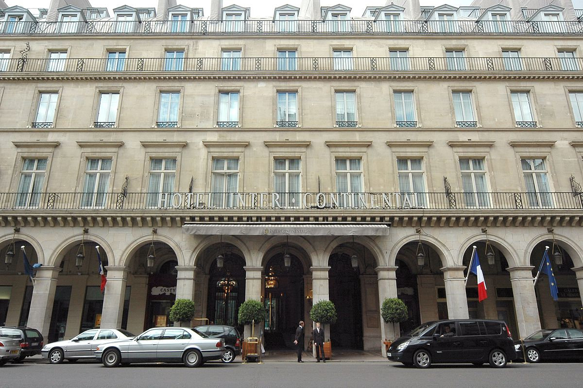 The westin paris vend me wikipedia for Paris hotel address
