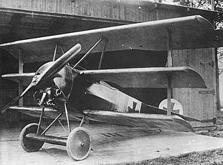 Fokker F.I (1917) airplane