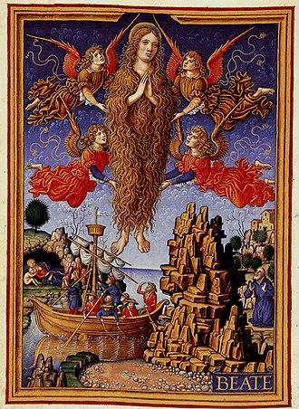 Sforza Hours - St Mary Magdalene by Birago