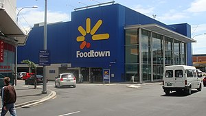 Countdown (supermarket) - Foodtown, Central Auckland 2008