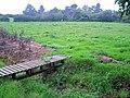 Footbridge, footpath and stile - geograph.org.uk - 241539.jpg