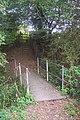 Footbridge and steps near London Beach Golf Course - geograph.org.uk - 1531507.jpg