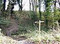 Footpath junction west of Binsted - geograph.org.uk - 623511.jpg