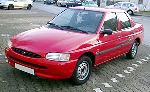 Ford Union - Image: Ford Escort front 20080110