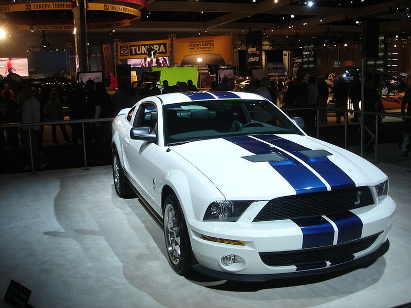 File:Ford Mustang GT500 at 2006 LA.jpeg