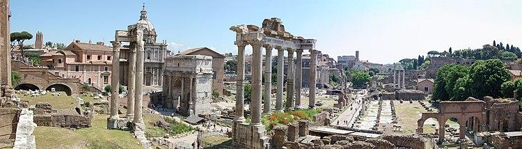Foro romano wikipedia - Da roma porta verso il mare ...