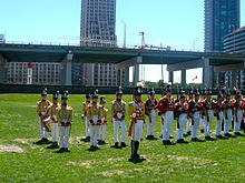 Fort York Guard Marching In Colour Parade.jpg