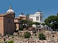 Forum Romanum nord, museo risorgimento, vittoriano back.jpg